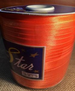 Косая бейка атласная: светло-оранжевая; Артикул: 6359; Цена: 1руб.10коп.; Наличие:  ЕСТЬ;