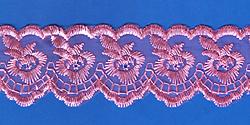 Кружево (органза): Розовая; Артикул: 048; Цена: 11руб.90коп.; Наличие:  ЕСТЬ;