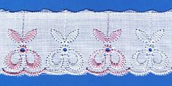 Кружево (шитьё): Бело-розовое; Артикул: 4004; Цена: 8руб.00коп.; Наличие:  НЕТ;
