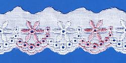 Кружево (шитьё): Бело-розовое; Артикул: 712; Цена: 8руб.00коп.; Наличие:  НЕТ;