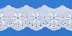 Кружево (шитьё): Белое; Артикул: 712; Цена: 8руб.00коп.; Наличие:  ОЖИДАЕТСЯ;