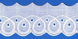 Кружево (шитьё): Белое; Артикул: 616; Цена: 9руб.80коп.; Наличие:  ЕСТЬ;