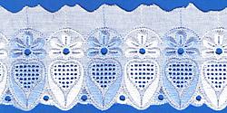 Кружево (шитьё): Бело-голубое; Артикул: 060; Цена: 22руб.00коп.; Наличие:  НЕТ;