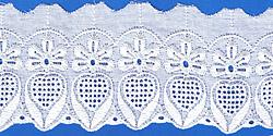 Кружево (шитьё): Белое; Артикул: 060; Цена: 22руб.00коп.; Наличие:  ЕСТЬ;
