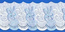 Кружево (шитьё): Бело-голубое; Артикул: 165; Цена: 20руб.00коп.; Наличие:  ЕСТЬ;